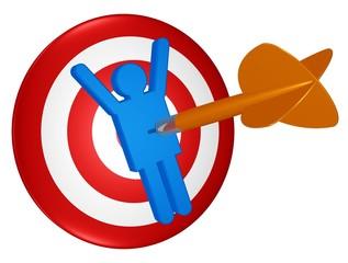 Treffer - gutes Personal fangen, Zielperson festsetzen