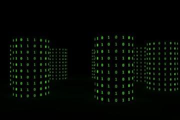 Capaciteit data opslag van computer server