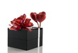 gift box with red hearts
