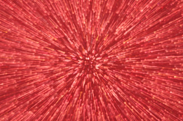 red glitter explosion lights abstract background