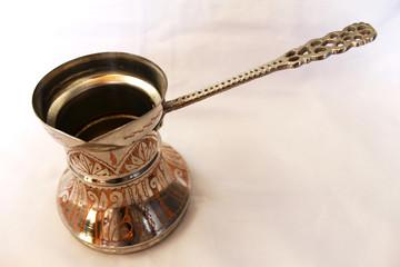 Traditional Bosnian copper caffee pot