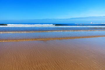 Strand, Sand und der blaue Ozean