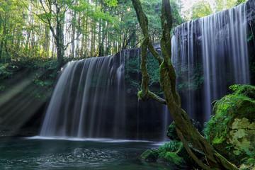 鍋ヶ滝の光芒