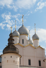 Rostov Kremlin, Assumption Cathedral domes