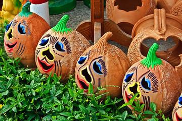 Pots for Halloween