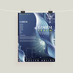 abstract technology background design for poster