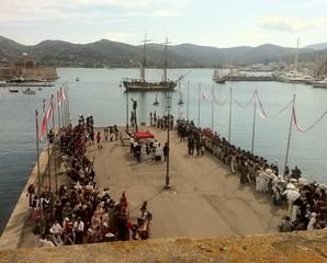 Napoleone arriva all'Elba
