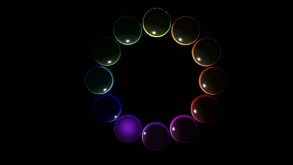 colored marbles video
