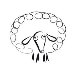 Ein Schaf - Jahr des Schafes