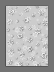 tło śnieżynki 1