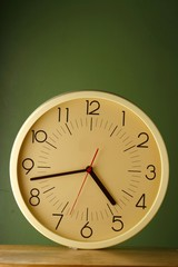 An analog clock