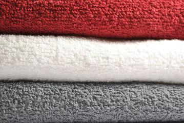 Asciugamani in tricolore