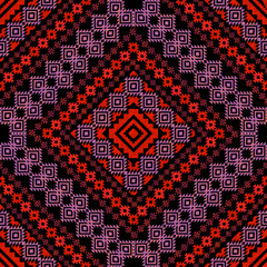 Abstract ornament in ethnic style
