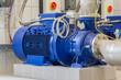 Einstufige Kreiselrad Pumpe liegend