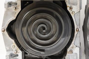 scroll Kompressor offen Schnittbild