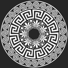 vector Traditional vintage Greek ornament (Meander)
