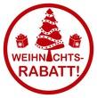 Weihnachts-Rabatt