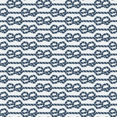 marine knot seamless pattern
