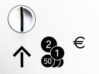 Münzeinwurf