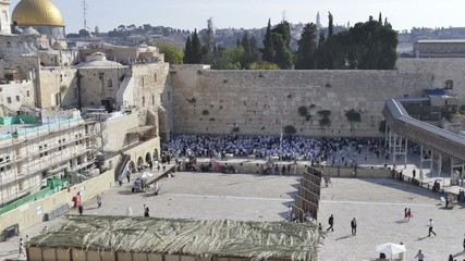 Time-lapse of the wailing wall