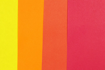 colorful layers of paper