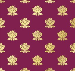 water lily , wedding card design, royal India