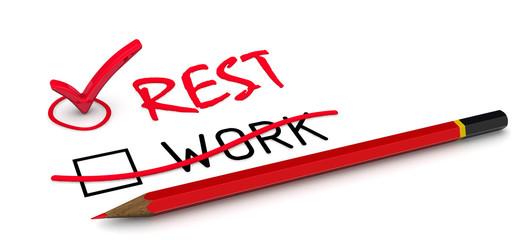 Отдых (rest). Концепция изменения выбора
