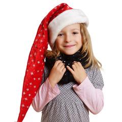 Kind zur Weihnachtszeit