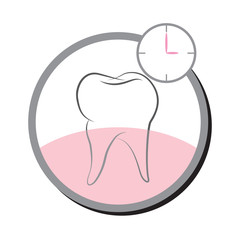 Simple tooth logo