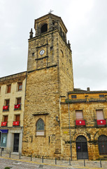 The clock tower, Ubeda, Andalusia, Spain