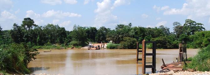 Le fleuve Comoé
