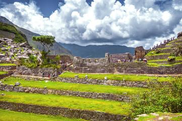Inca city Machu Picchu (Peru)