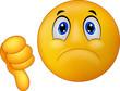Dislike sign emoticon