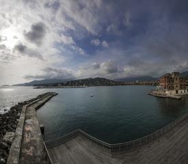 La costa di Rapallo, riviera ligure