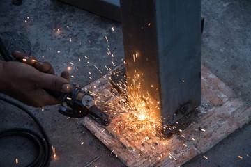 Welder metal