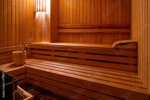 Sauna with bucket - 71911707
