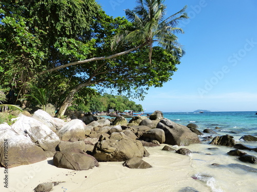 canvas print picture Traumstrand Ko Phi Phi