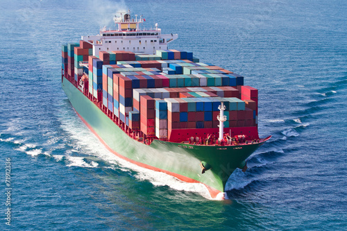 Container Ship - 71912336