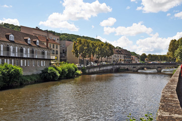Figeac, Lot - Midi Pirenee - Francia