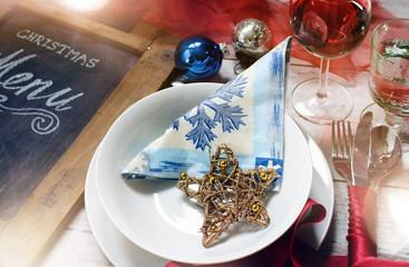 festliche Tafel - Weihnachtsmenu