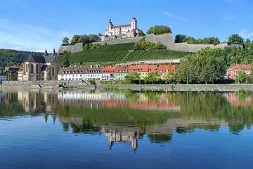 Marienberg Fortress in Wurzburg, Germany