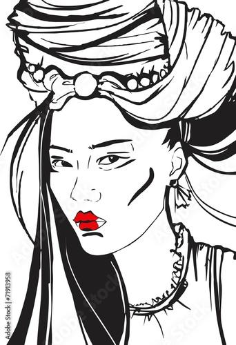 Asian girl © alsoush