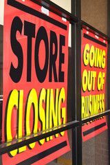 Recession Signs