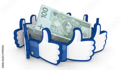 Like 3D banknoty - 71915153
