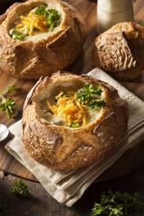 Homemade Broccoli and Cheddar Soup