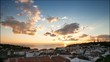 Beautiful sunset in the Azores | 4K time lapse