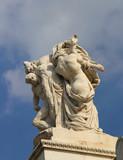 Le sacrifice - Monument Victor Emmanuel II à Rome poster