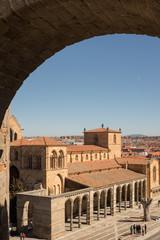 Vista de la basílica de San Vicente, Ávila