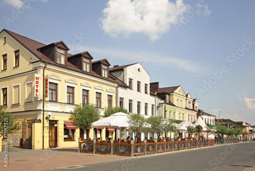 Marketplace in Biala Podlaska. Poland