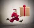 Fast Santa Claus